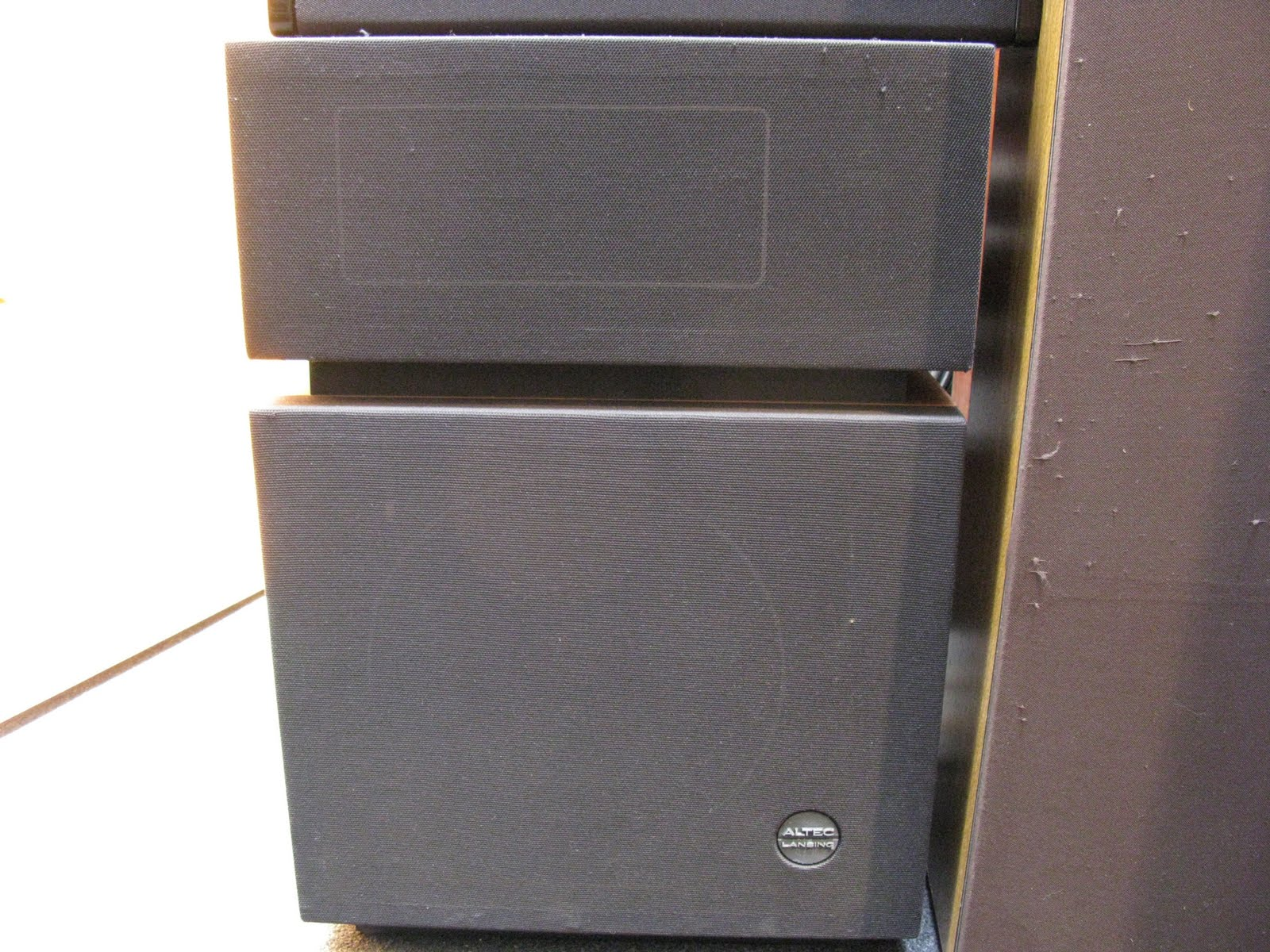 Altec Lansing Model 19 Speakers Specs