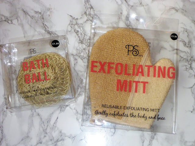 Primark Bath Ball & Exfoliating Mitt