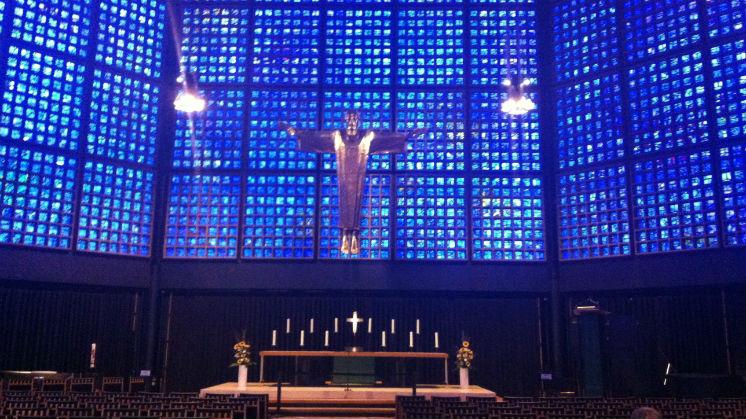 La nueva Iglesia Kaiser Wilhelm