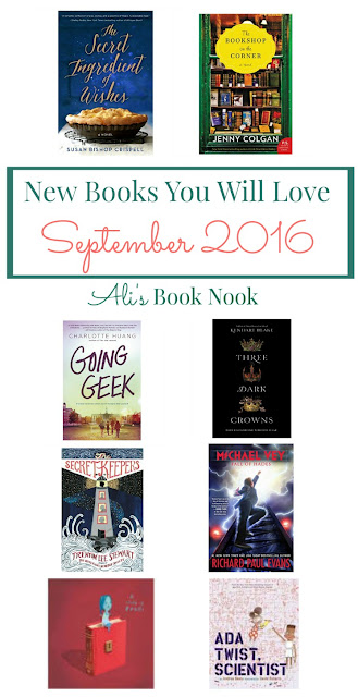 new fiction ya middle grade picture books september 2016