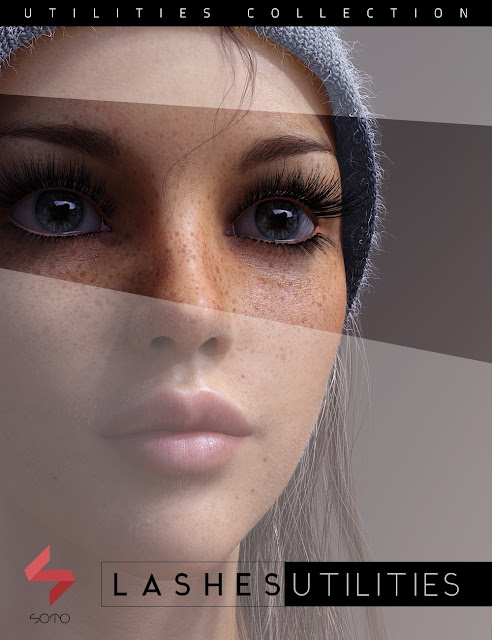 Lashes Utilities for Genesis 2, 3 and 8