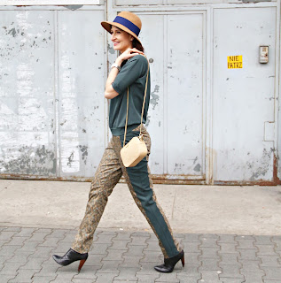 green look, kapelusze, streetstyle, myBag, tressore, novamoda stylizacje, Novamoda streetstyle, green and gold, stylistka poznan