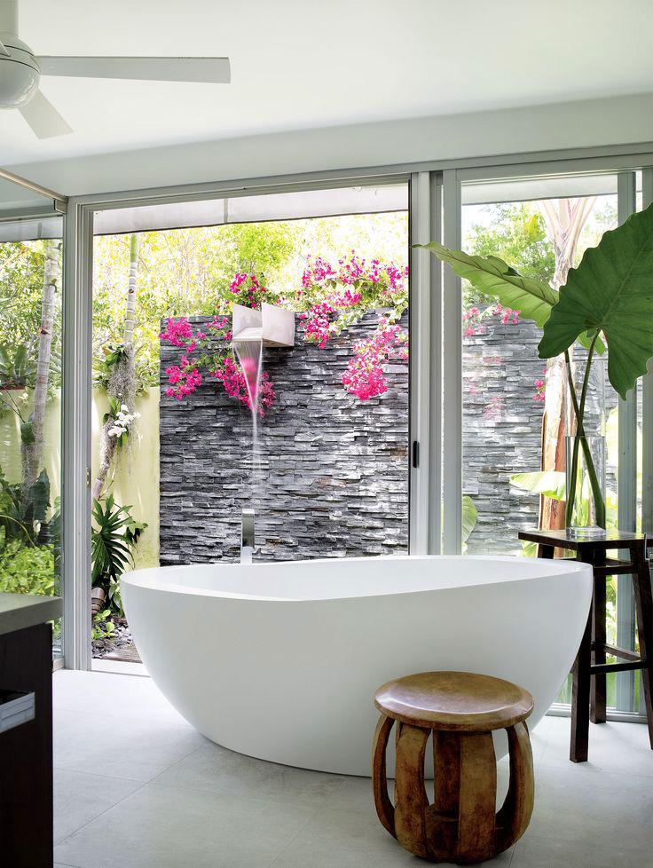 bath-stone-wall-outside-shower-ideas