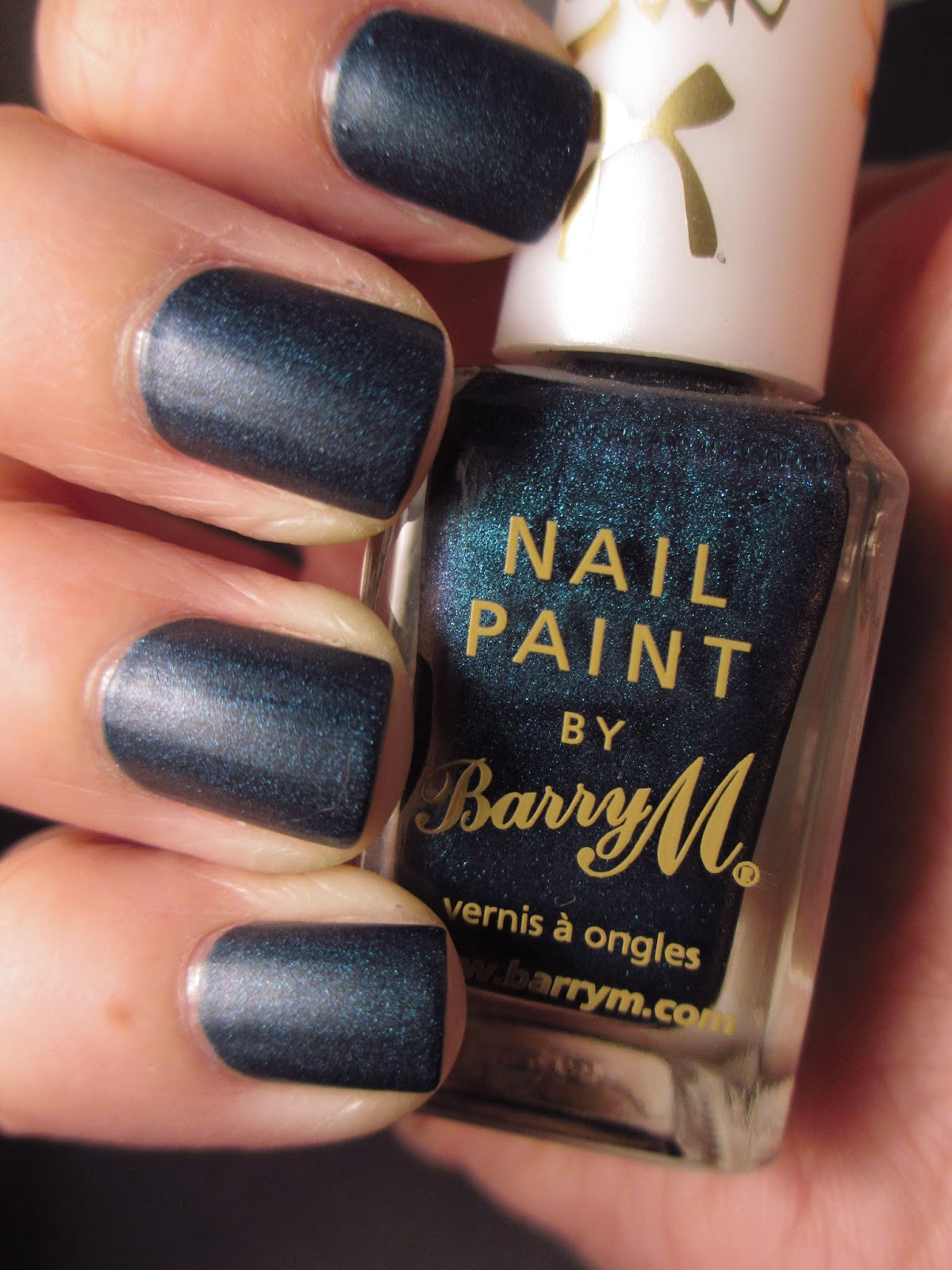 Barry-M-Silk-Forest-Green-Nail-Polish