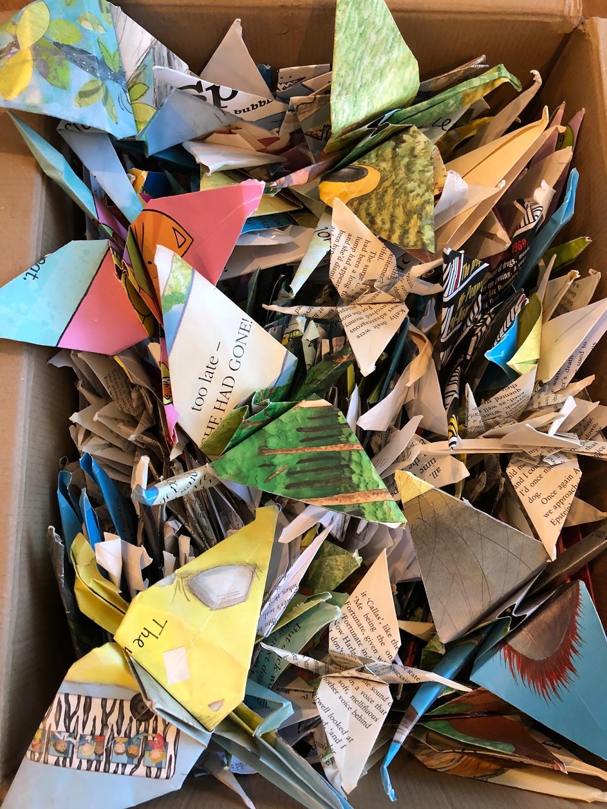 1001 Origami Crane Designs
