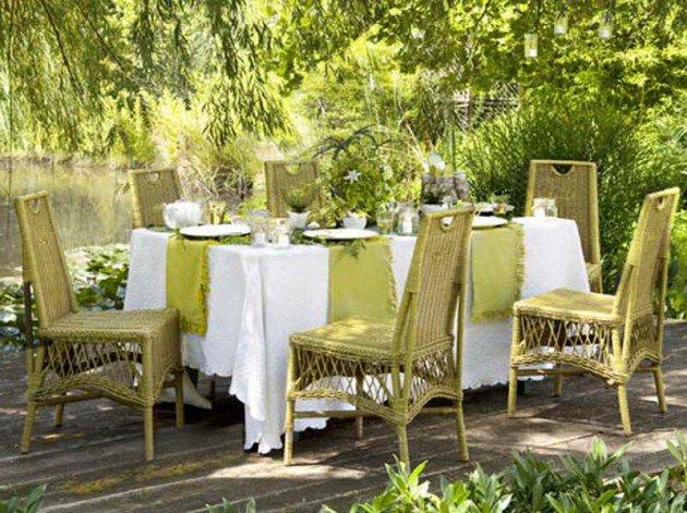 Desain Ruang Makan Outdoor