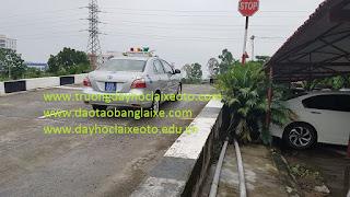 thi bằng lái xe ô tô B2 tại học viện cảnh sát nhân dân