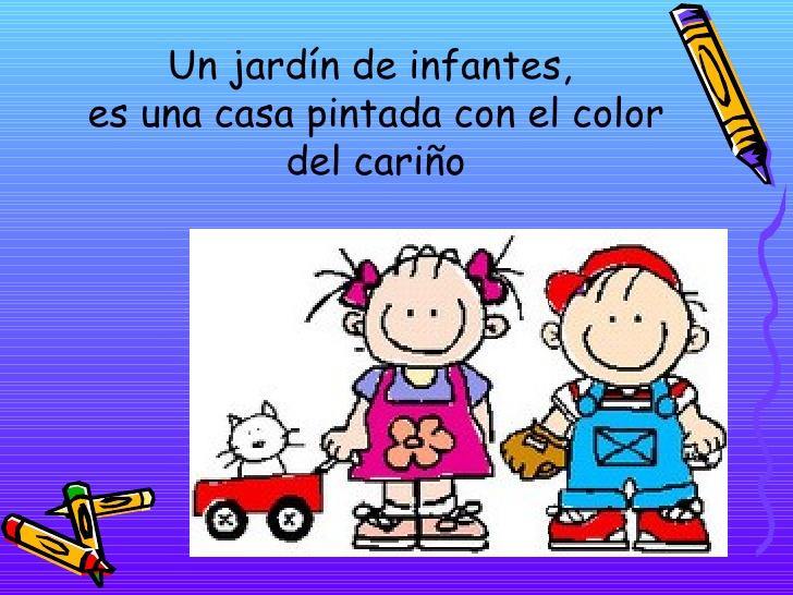 El rinc n de m sica dia de los jardines de infantes y la for Cancion para saludar al jardin de infantes