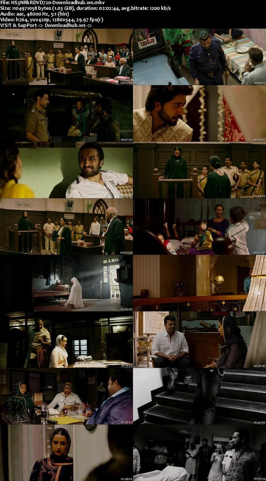 Haseena Parkar 2017 Hindi 720p DVDRip