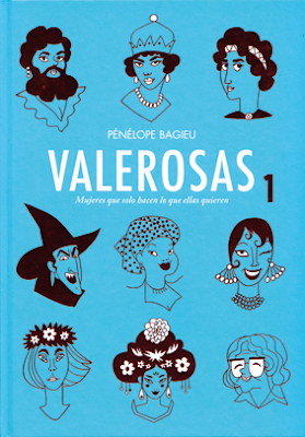 Valerosas de Penelope Bagieu, edita Dibbuks - comic mujeres biografia