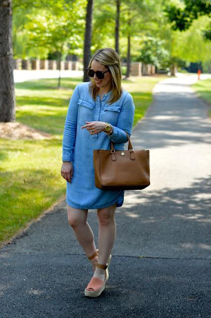 fall-chambray-dress-outfit