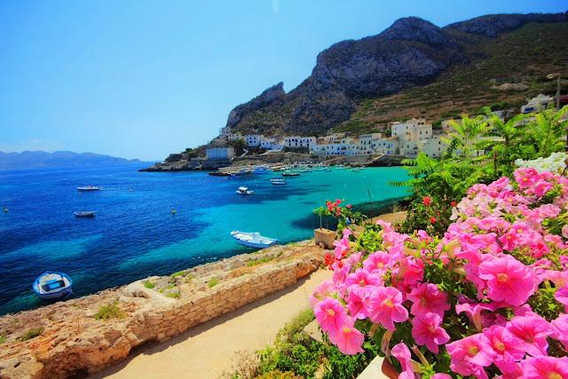 Playa en Sicilia Italia