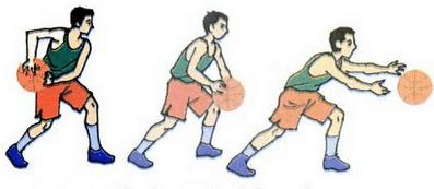 Teknik melempar bola basket bawah dengan dua tangan (the baseball pass)