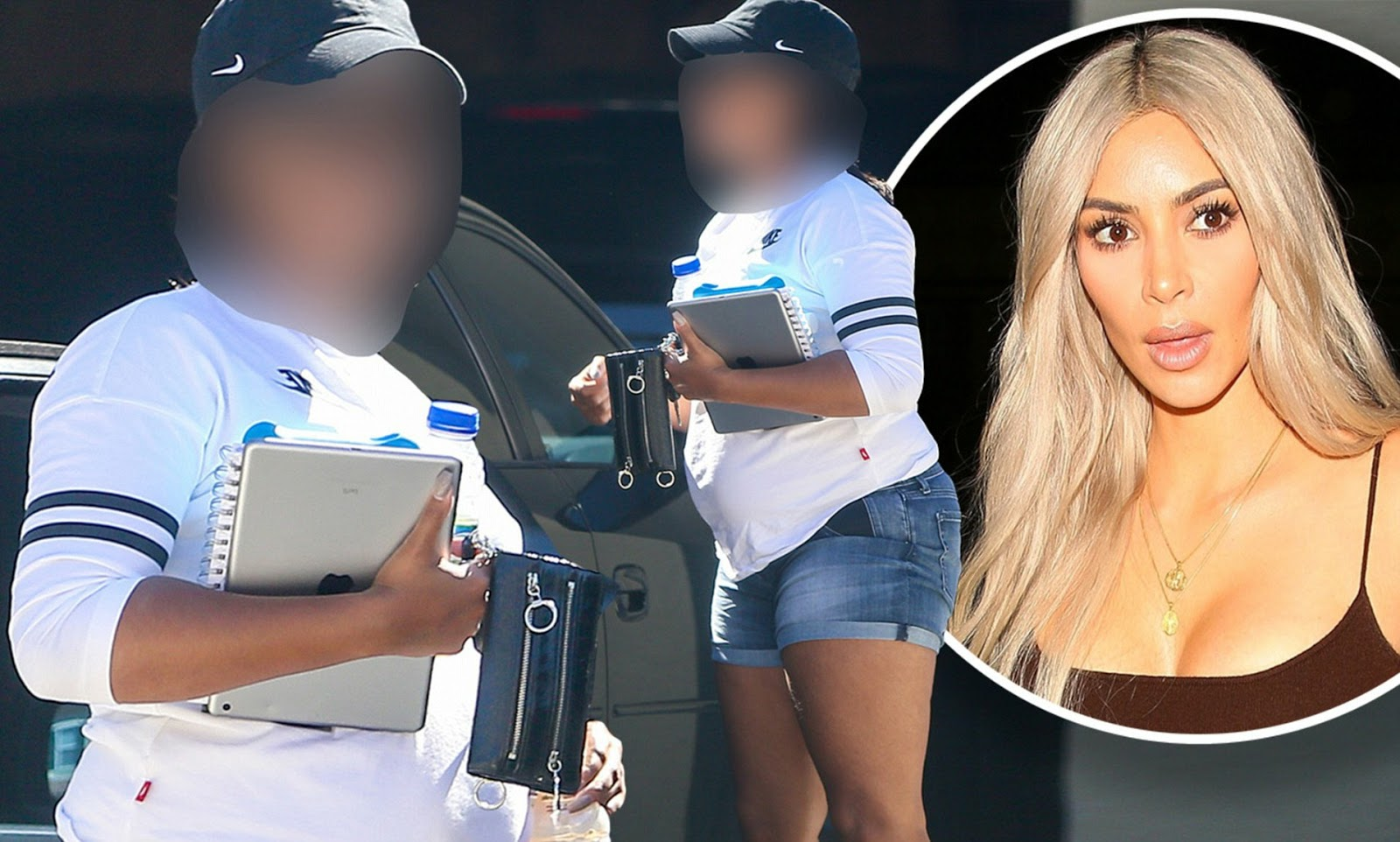 Stella Dimoko Korkus.com: Fans Speculate Twins As Kim ... Kim Kardashian Surrogate