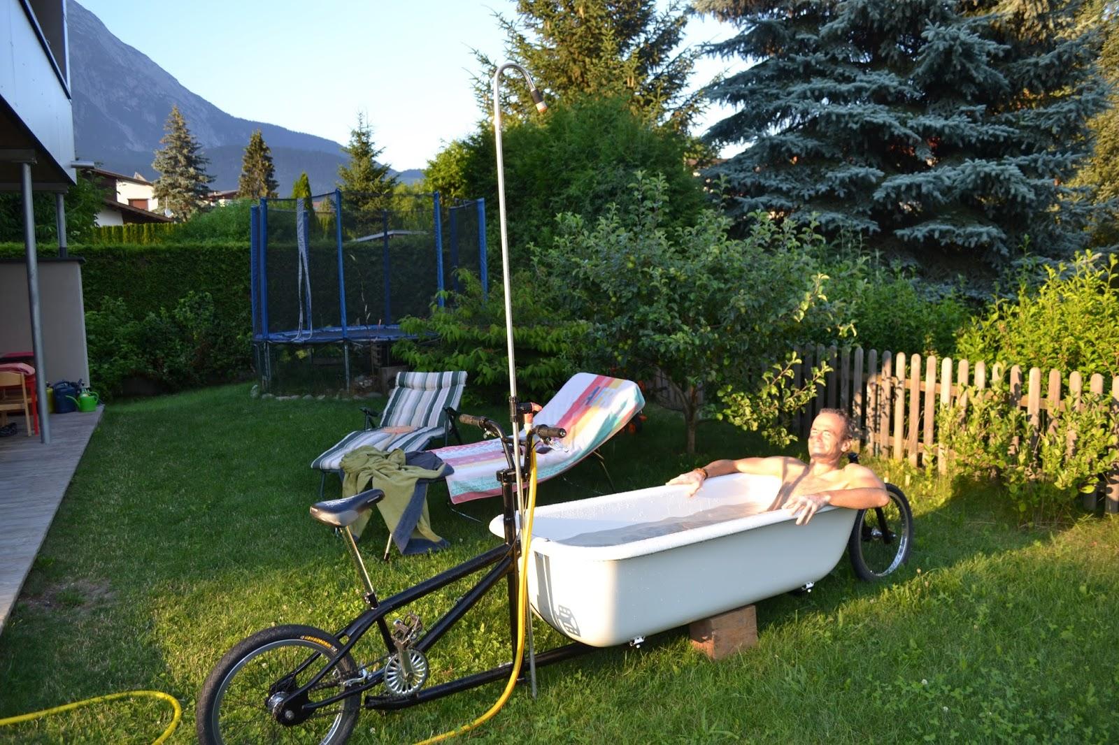 cargobikelane summer fun when a diy longjohn cargo bike meets a