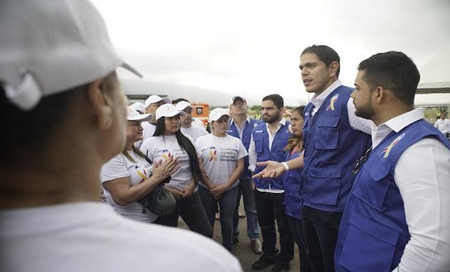 """EE.UU: Lester Toledo: """"La diáspora venezolana ha sido el principal motor de la Ayuda Humanitaria""""."""