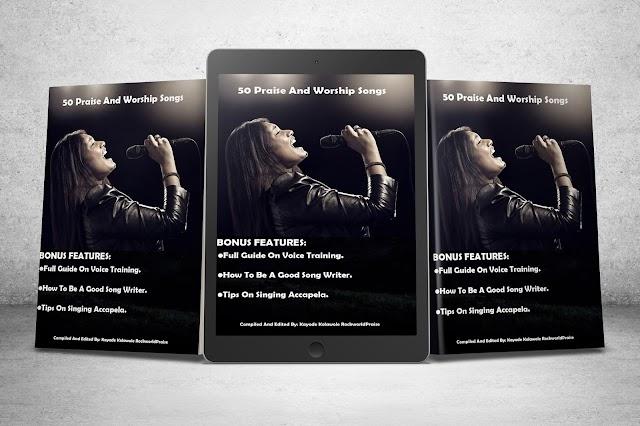 50 Praise And Worship Songs Book By Kayode Kolawole Rockworldpraise