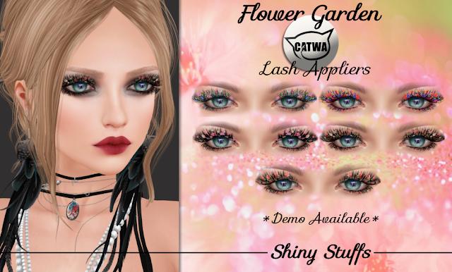 Shiny Stuffs Flower Garden Lashes