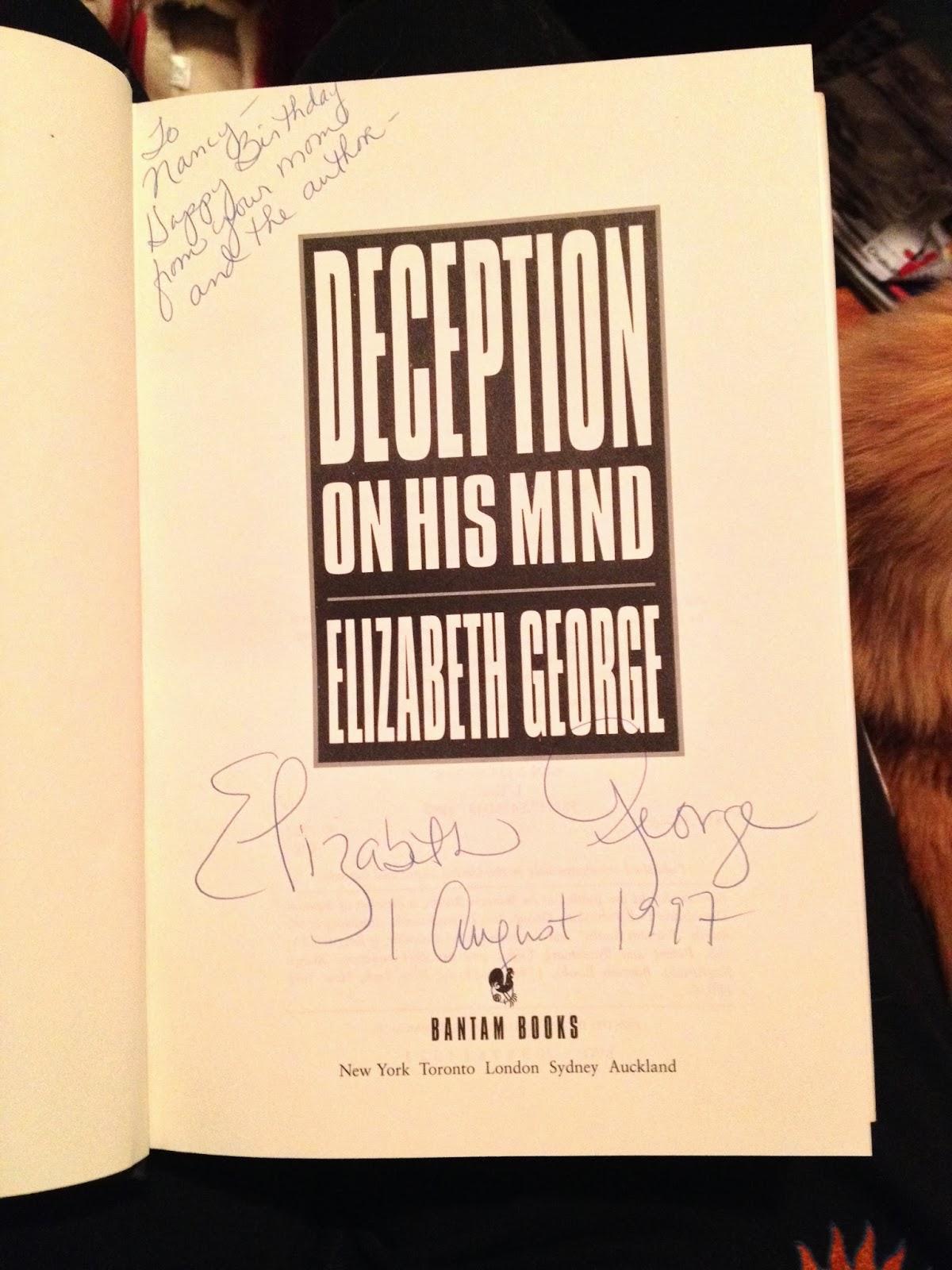 elizabeth george books
