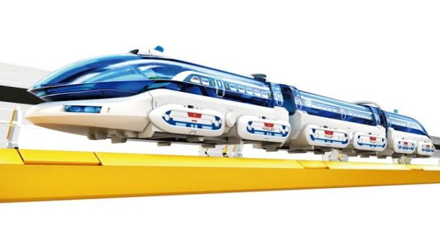 Kereta Api Mainan Melayang / Levitasi Train