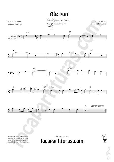 Trombón y Bombardino Partitura de Sheet Music for Trombone, Euphonium Music Scores