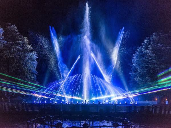 Klangwelle Bad Neuenahr - heute startet das Geburtstagsspektakel aus Wasser, Licht und Musik