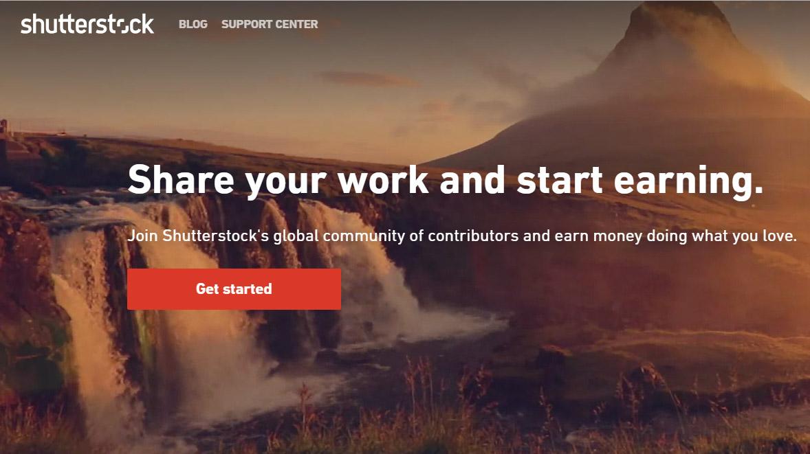 Hướng dẫn bán ảnh kiếm tiền trên Shutterstock lazoko