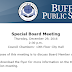 Buffalo Board of Education to meet, discuss 'board member conduct'