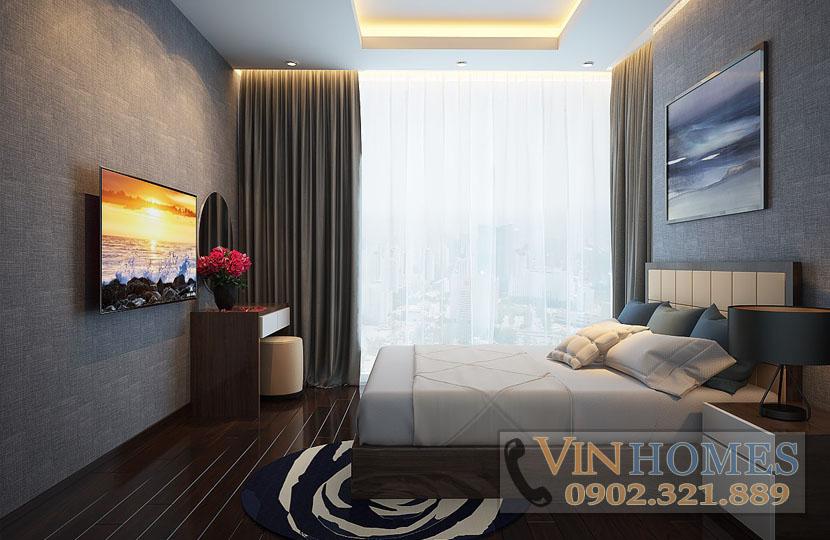 cho thuê căn hộ Vinhomes tòa Park 5 140m2 tầng trung nội thất mới - hinh 6