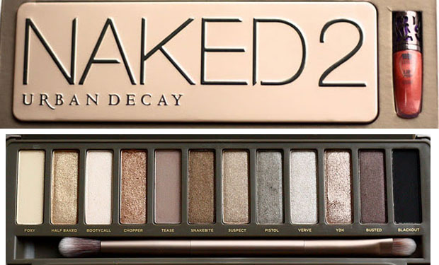 beauty le chic urban decay naked palette 2. Black Bedroom Furniture Sets. Home Design Ideas