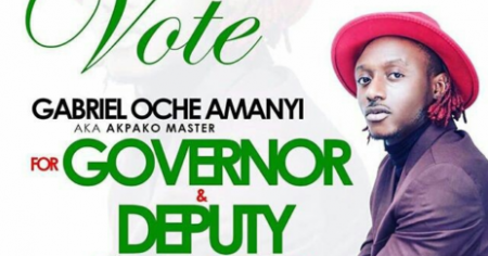CAMPAIGN POSTERS: VOTE TERRY G FOR GOVERNOR (BENUE STATE)