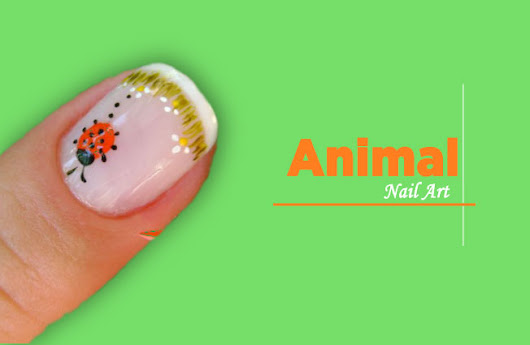 INTERESTING ! Adorable Details For Animal Nail Art Designs