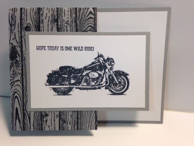 My Creative Corner A One Wild Ride Masculine Birthday Card