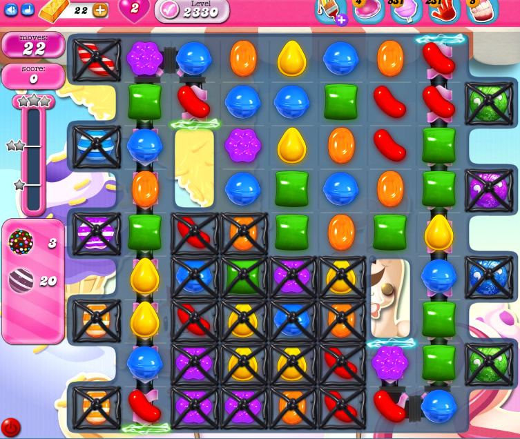 Candy Crush Saga level 2330