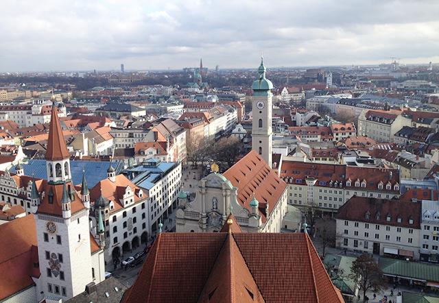 stedentrip München