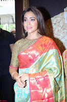 Shriya Saran Looks Stunning in Silk Saree at VRK Silk Showroom Launch Secundrabad ~  Exclusive 118.JPG