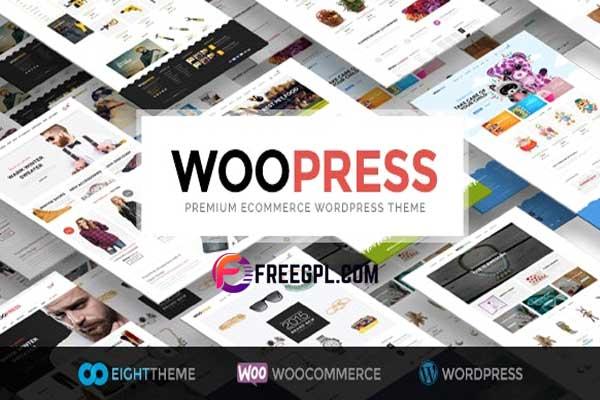 WooPress - Responsive eCommerce WordPress Theme Free Download