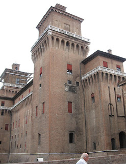 Ferrara's magnificent castle is the centrepiece of the town in Emilia-Romagna