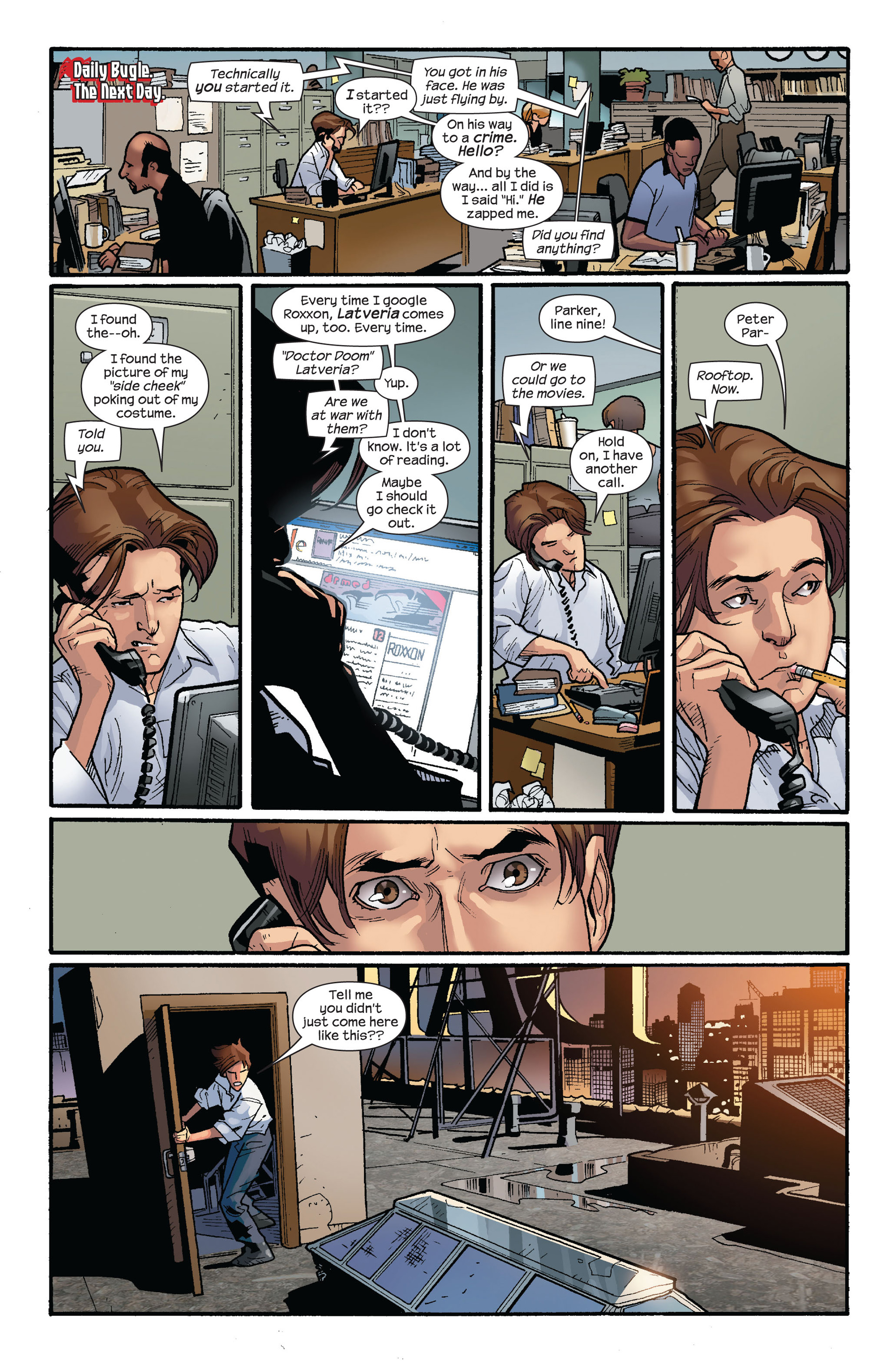 Read online Ultimate Spider-Man (2000) comic -  Issue #124 - 19