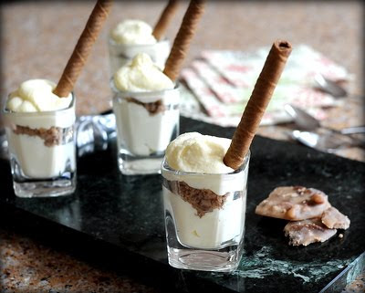 Mini Tiramisu Cups with Pralines