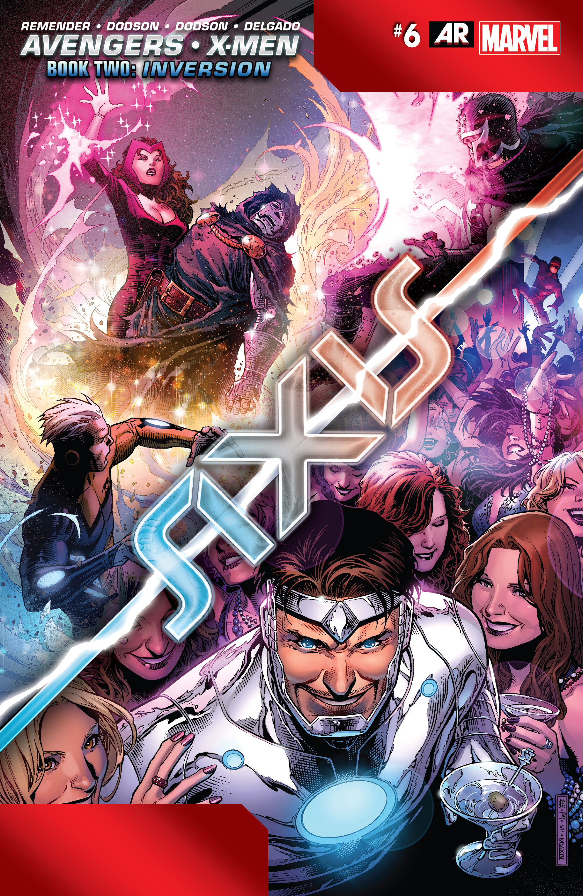 Read online Avengers & X-Men: AXIS comic -  Issue #6 - 1