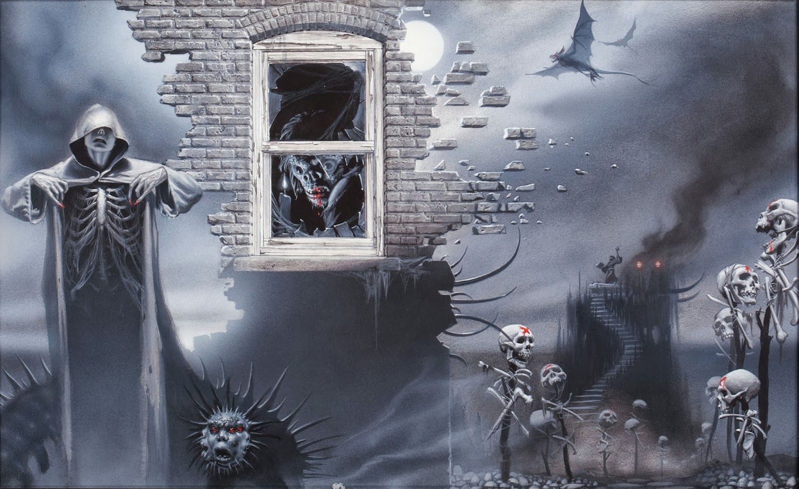 Hp Lovecraft Art Wallpapers: Fantasy Ink: Michael Whelan & H.P. Lovecraft