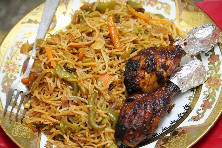 Veg Chow Mein Recipe / Vegetable Stir Fry Noodles Recipe ...