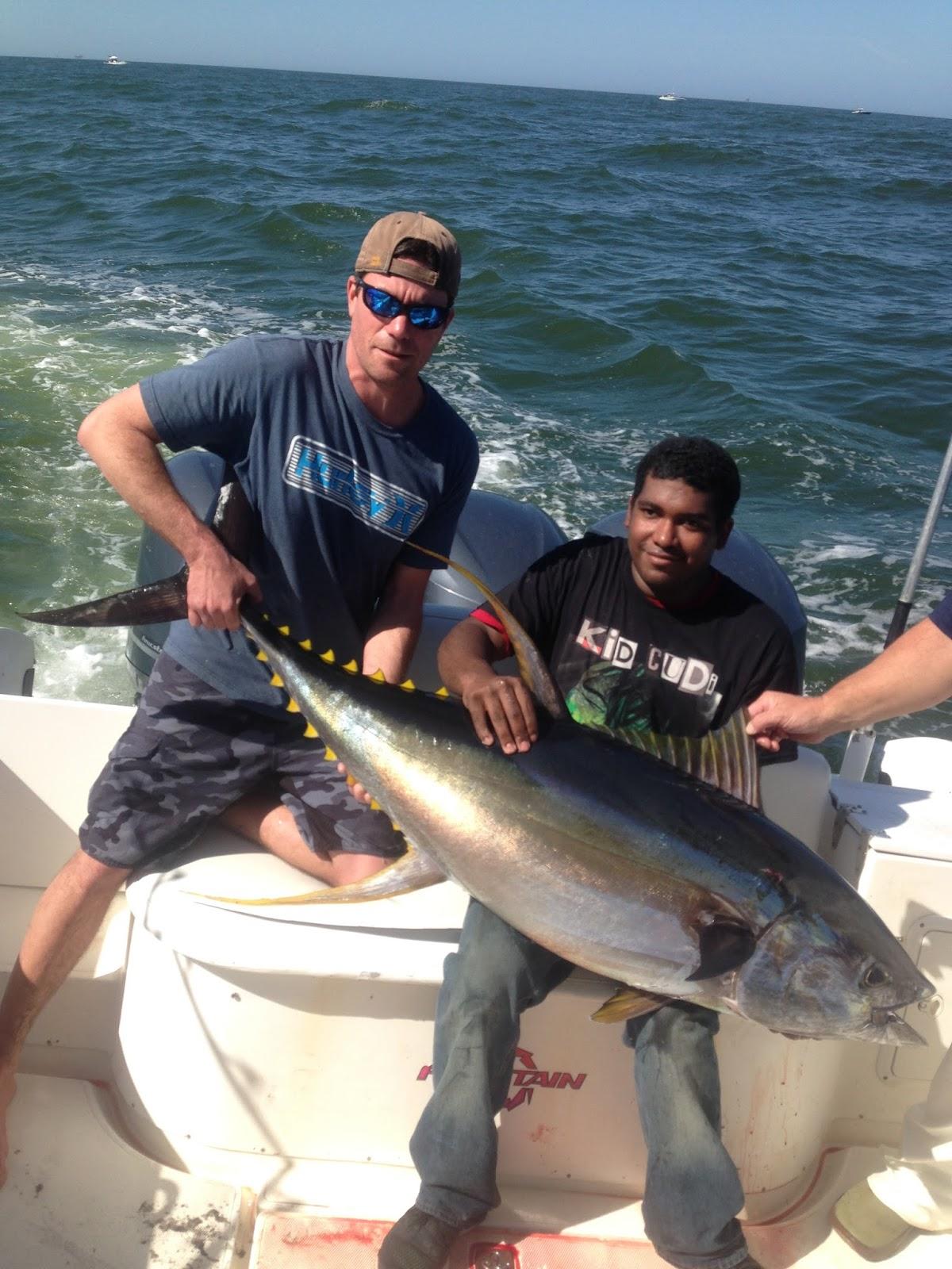Venice la offshore tuna fishing reports july 2013 for Venice fishing report