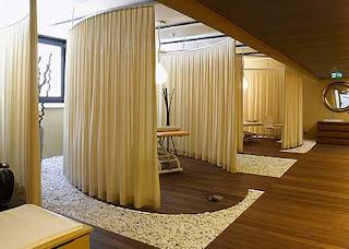 diseño de espacios muy creativos en un spa