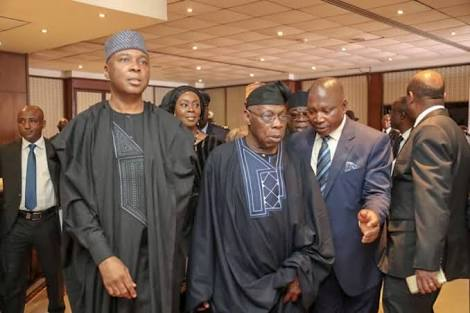 Obasanjo, Saraki, Dogara Absent At Independence Day Rally
