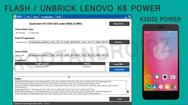 Flash/Unbrick Stock Rom Lenovo K6 Power | Lenovo K6 Power Flashing