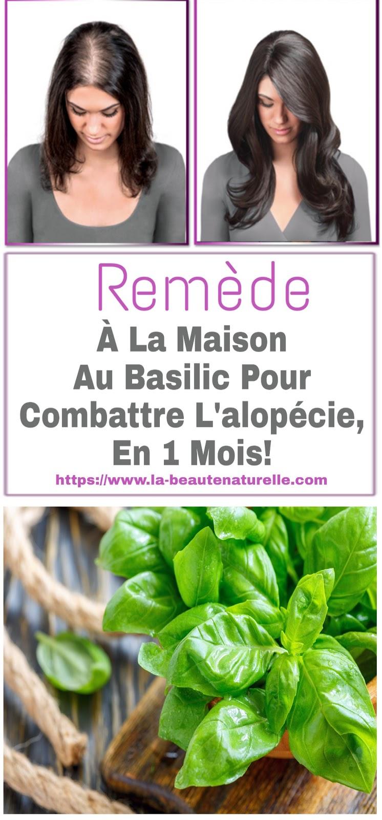 Remède À La Maison Au Basilic Pour Combattre L'alopécie, En 1 Mois!