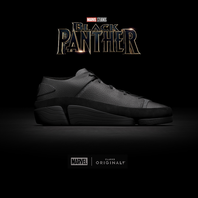 Marvel Studios, Black Panther, Clarks Originals, sneakers, calzado, Disney, T'Challa, Capitan America, Civil War, Wakanda, Trigenic Evo,