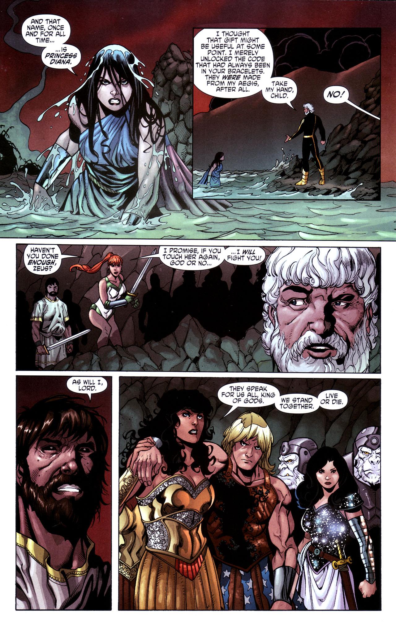 Read online Wonder Woman (2006) comic -  Issue #39 - 21